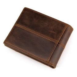 Genuine Cow Leather Men's Fashion Wallet