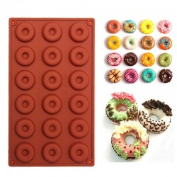 Cake Doughnut Baking Silicone Mould