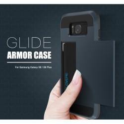 Samsung Galaxy S8 S8 Plus Hybrid Card Slot Hard PC+Soft TPU Cover Case