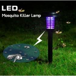 Garden Solar Power LED Mosquito Killer Lamp Waterproof Lawn Light