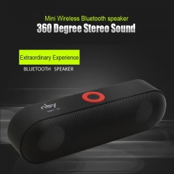 NBY-18 Mini Bluetooth Portable Wireless Speaker 3D Sound |