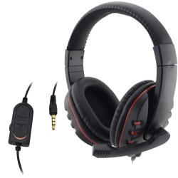 PlayStation 4 Wired 3.5mm Gaming Headset Microphone PC Headphones