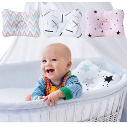 Pozycjoner głowy dla niemowląt & dzieci - bawełniana poduszka 3D