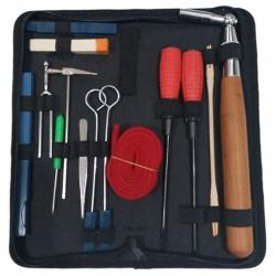 Profesjonalne narzędzia do strojenia fortepianu - zestaw z torbą