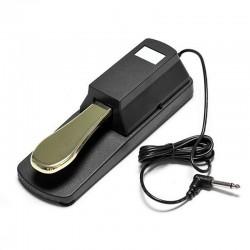 Amortiguador práctico: pedal de sostenido para piano Yamaha y teclado Casio