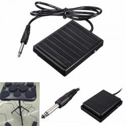 Pedal de sostenido de pie universal - interruptor controlador para teclados electrónicos