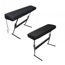Pokrowiec ochronny na pianino elektroniczne ze sznurkami - 61/88 klawiszy