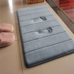 Badkamer mat - traagschuim vloerkleed - water absorberend