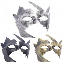 Antyczne srebro & złoto - wenecka maska na twarz - plastik