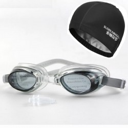Swimming hat & goggles - set
