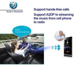 Radio samochodowe 2 Din Bluetooth Android 9 - WiFi - USB - nawigacja GPS - Mirrorlink - MP3 MP5