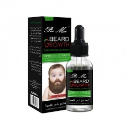 Hommes croissance barbe huile bio barbe cire baume viter barbe 100 produits naturels de perte de c