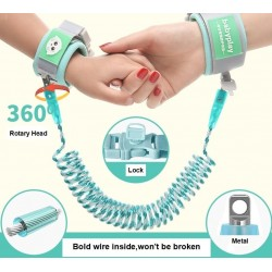 Baby Harness Anti Lost Wrist Link Kids Outdoor Walking Hand Belt Band Child Wristband Toddler Leash