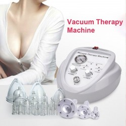 Creoy Vacuum Massage Therapy Machine Breast Enlargement Pump Lifting Enhancer Massager Cup And Body