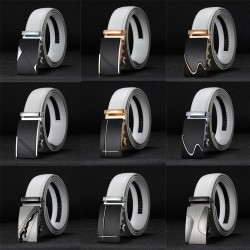 CETIRI 25 style Luxury Genuine Leather Mens Belt Automatic Buckle Jeans Cowhide Strap Brand Belt Wa