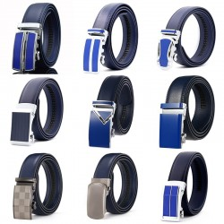 CETIRI 13 style genuine leather belt men belt automatic buckle high quality male Fashion jeans chain