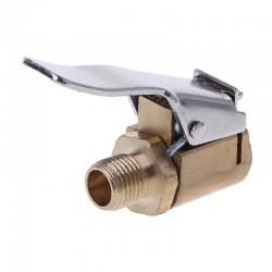 8mm - car tyre inflator valve - air chuck clamp - connector - adapter - brass