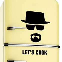Let's Cook - Breaking Bad - vinilo adhesivo de pared
