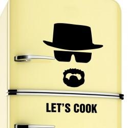 Lets Cook - Breaking Bad - winylowa naklejka ścienna