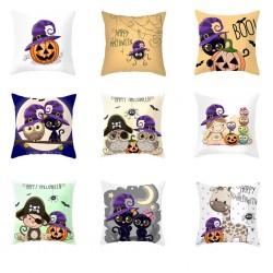 Halloween design - poszewka na poduszkę - poszewka 45 * 45 cm