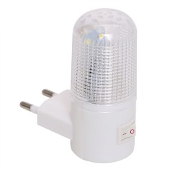 Emergency Light Wall Lamp Home Lighting LED Night Light EU Plug Bedside Lamp Wall Mounted Energy-eff
