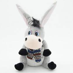 Donkey with Flapping Ears Talking speaking plush toys singsing stuffed animals for children girls b