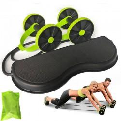 AB Räder Walze - dehnbares elastisches Widerstandszugseil - Bauchmuskeltrainer