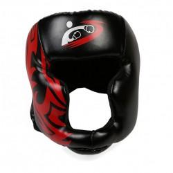free size muay thai boxing taekwondo MMA helmet head protector - karate sparring kickboxing protective headgear DDO