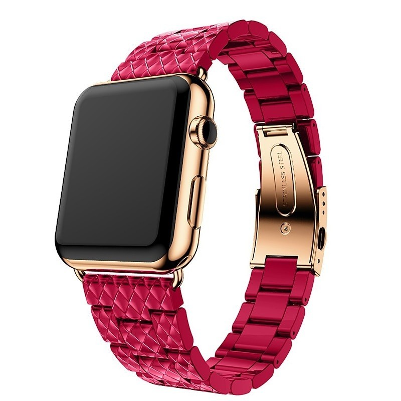 Resin Strap for apple watch band 42mm38mm44mm40mm link bracelet Watchband for iWatch 432 iwatch