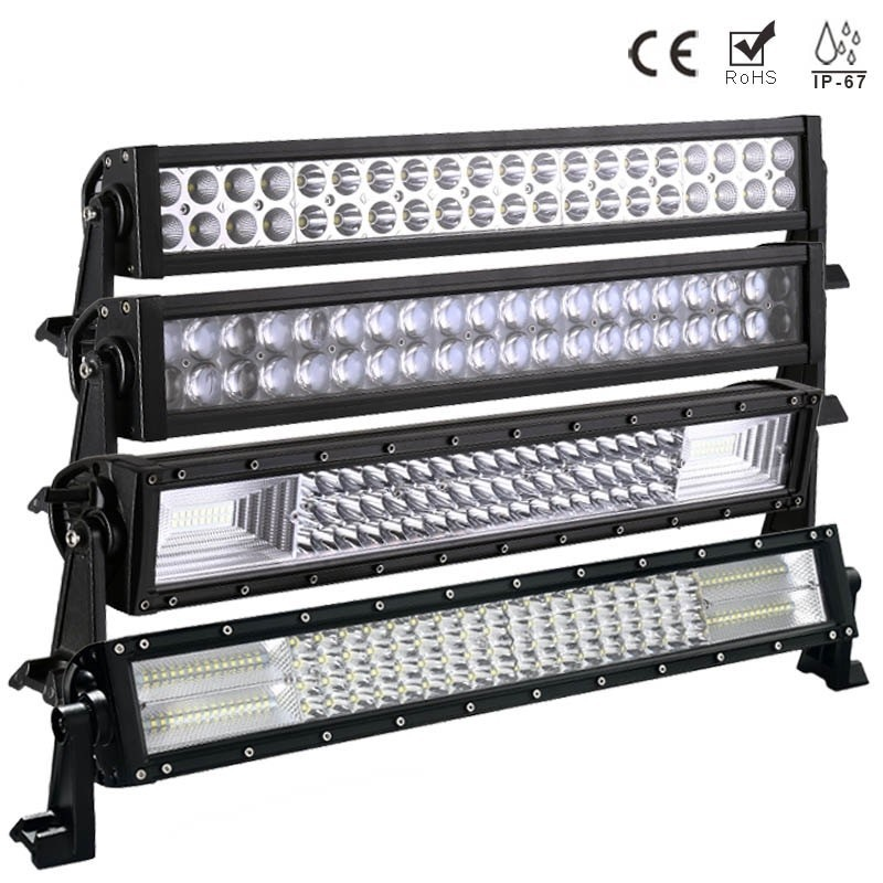 22 Inch 120W LED Light Bar for Off Road Indicators Work Driving Offroad Boat Car Truck 4x4 SUV ATV Fog Spot + Flood Combo 12V