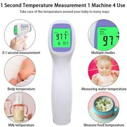 Multiuso - infrarrojo - digital - termómetro de cuerpo sin contacto