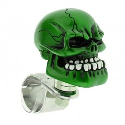 Testa di teschio verde - palla volante