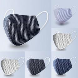 Maschera viso / bocca lavabile dal design moderno - anti batterica - anti inquinamento