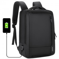"""Anti-Diebstahl wasserdichter Reiserucksack - 15,6 """"-Laptoptasche - mit USB-Ladefunktion"""