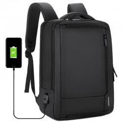"""Zaino da viaggio impermeabile antifurto - Borsa per laptop da 15,6 """"con ricarica USB"""