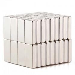 Aimant néodyme N35 - aimant bloc puissant - cuboïde 20 * 5 * 3mm 10 pièces