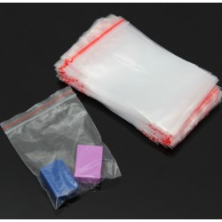 7 * 10cm Ziplock reclosable packing bags 100 pieces