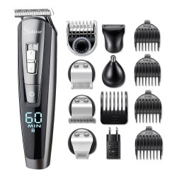5 in 1 Electronic hair trimmer set - waterproof - beard trimmer