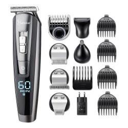 5 in 1 Electronic hair trimmer set - waterproof - beard trimmer