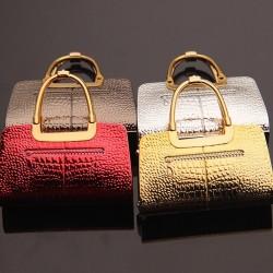Elegancki kształt torebki - zapalniczka gazowa wielokrotnego użytku