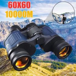 Jumelles 60 * 60 - télescope haute clarté - HD 10000M - vision nocturne - zoom