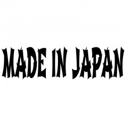 MADE IN JAPAN - naklejka samochodowa