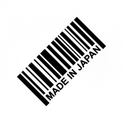 MADE IN JAPAN - reflective 3D car sticker