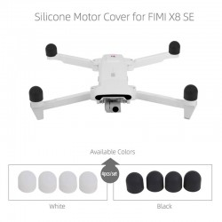 4 pieces - silicone protective cups for Xiaomi FIMI X8 SE Drone - motor covers