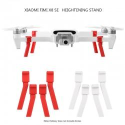 Carrello di atterraggio per Xiaomi FIMI X8 SE - protezione della fotocamera - piedi estesi