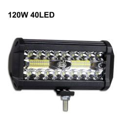 60W - 420W - Barra de luces LED - focos combinados para camiones - todo terreno - tractores - SUV 4x4 - ATV - barcos