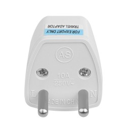 AU UK US to EU power plug - travel adapter - converter