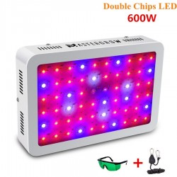 600W LED Plant Grow Light Box Panel Hydroponic