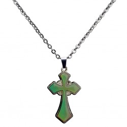 Cross Pendant Necklace - Thermo