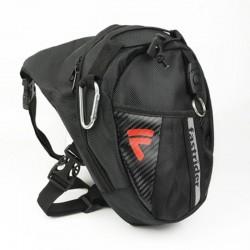 Moto - sac de jambe - taille - étanche - nylon - 25 * 20 * 7cm